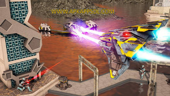 Free Download Metal Jet Space War 2016 Apk Mod v1.3 Android Full Latest Version 2017