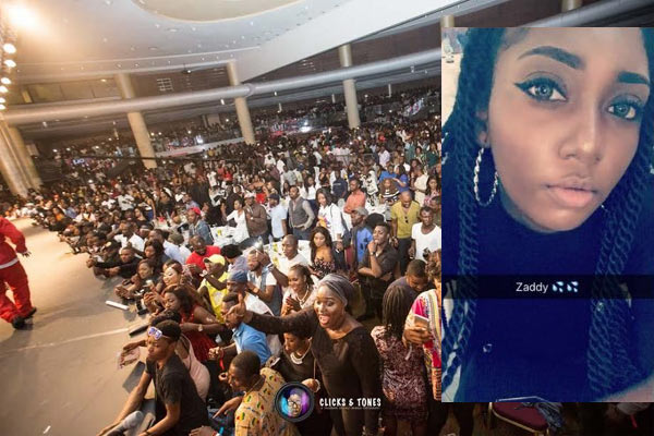 Girl narrates her sad experience at Olamide's concert