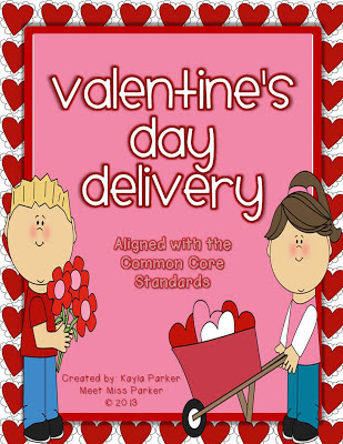 meet miss parker valentine 39 s day delivery common core aligned. Black Bedroom Furniture Sets. Home Design Ideas