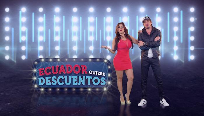 """Comerciales """"Ecuador quiere descuentos"""""""