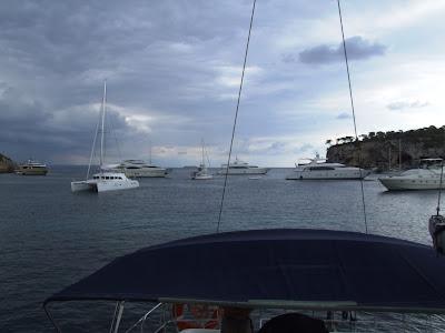 Dreamtime Sail: Cala Portals (Porto Veile), a great place