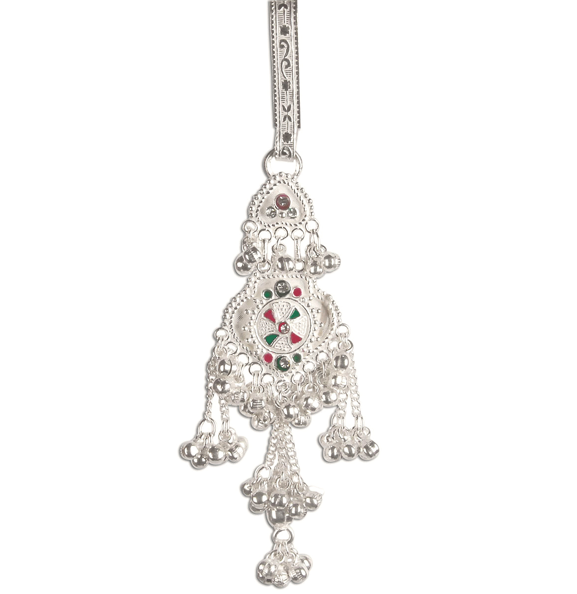 Indian Fashions & Styles: Unique Keychain In Silver