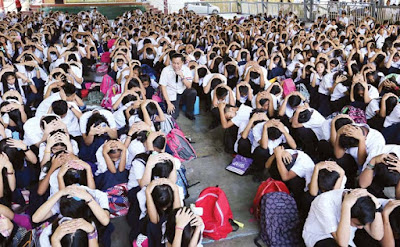 Earthquake Drill Conducted Throughout Metro Manila, Useful or just Waste of Time?
