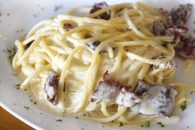 Massimo Bali - Spaghetti alla carbonara
