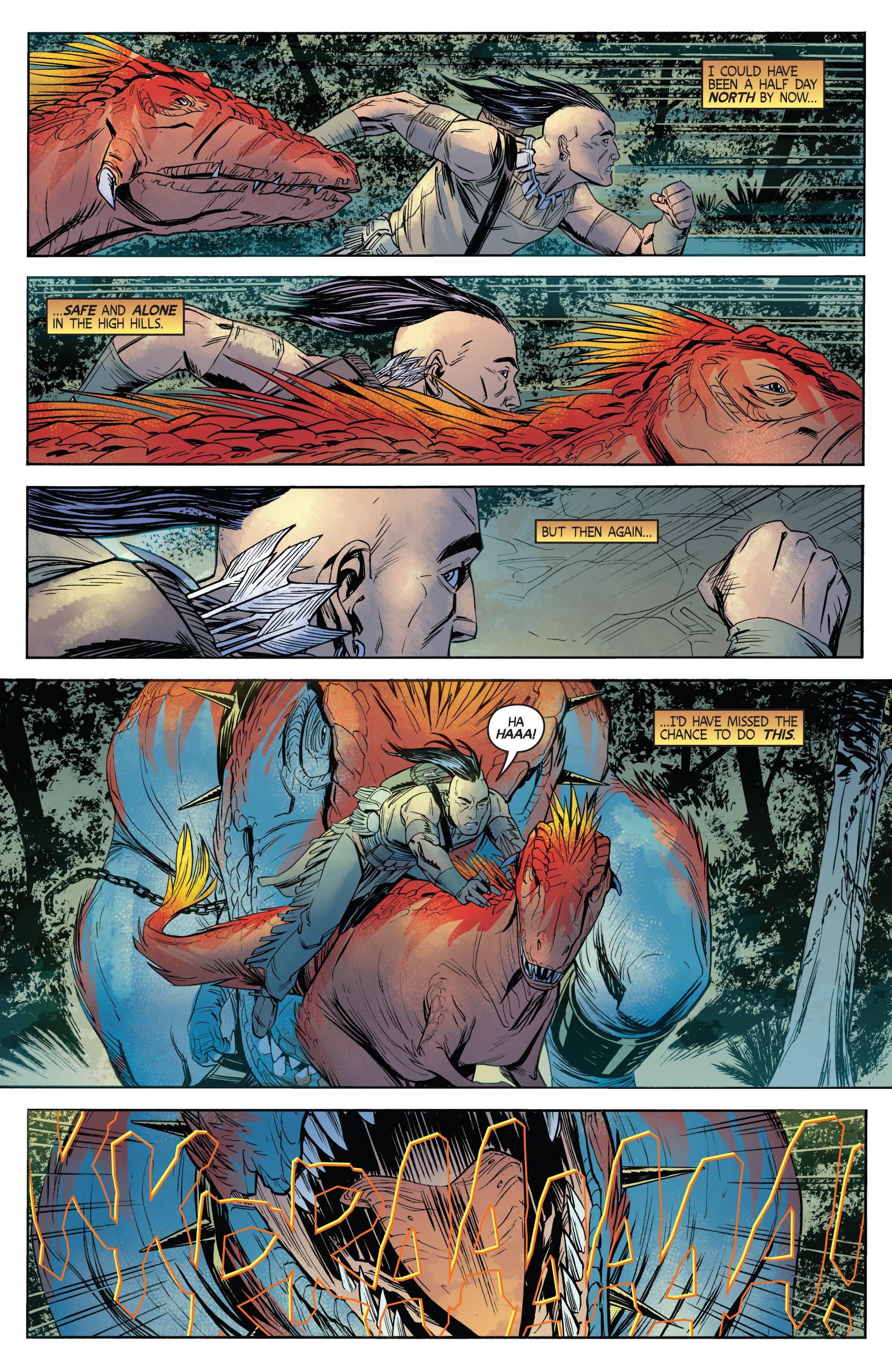 Read online Turok: Dinosaur Hunter (2014) comic -  Issue # _TPB 1 - 70