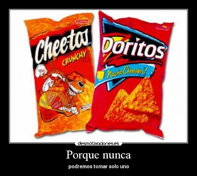 """Cheetos y Doritos hechos de petróleo… Eso dicen las """"malas lenguas"""""""