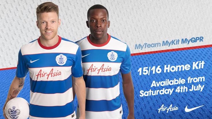 Queens Park Rangers 15-16 Kits Released - Footy Headlines 4567523bd