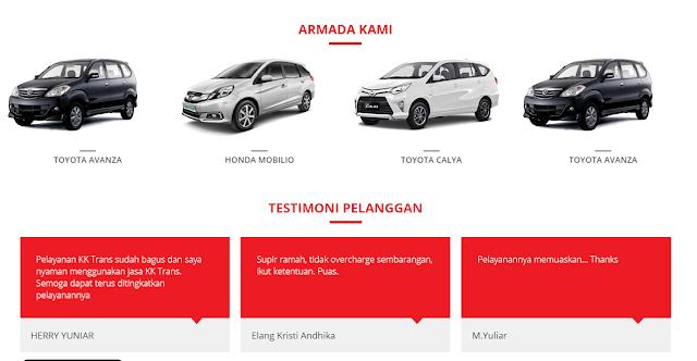 Mobil Travel Bandung Cibinong