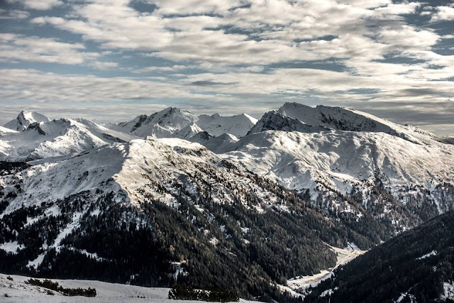 Wipptal Winter Panorama Mountainbike