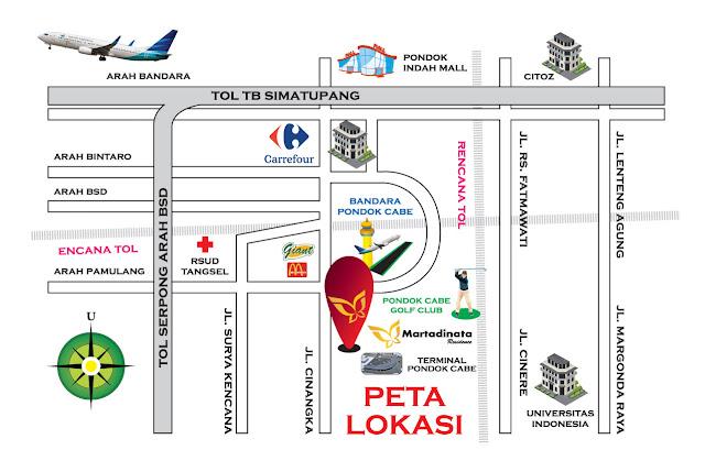 Martadinata Residence, Smart Cyber Home Pertama Di Tangerang Selatan