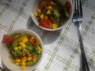 Mexican Cucumber Salad 2