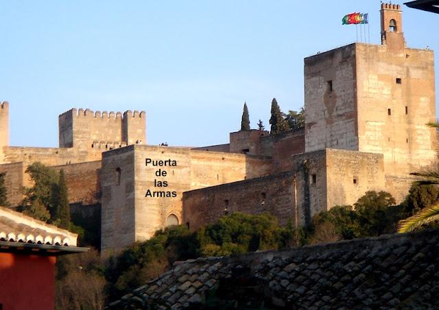 Resultado de imagen de torre de las armas alhambra granada