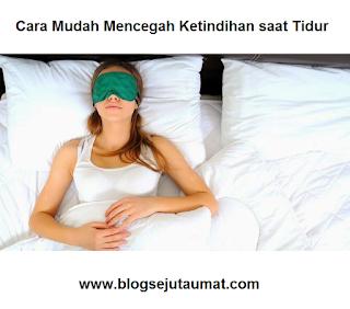 Cara Mudah Mencegah Ketindihan saat Tidur