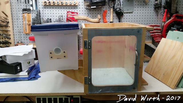 wooden 3d printer enclosure