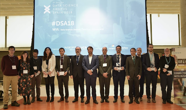 """Data is in the air"" con los Data Science Awards Spain 2018"