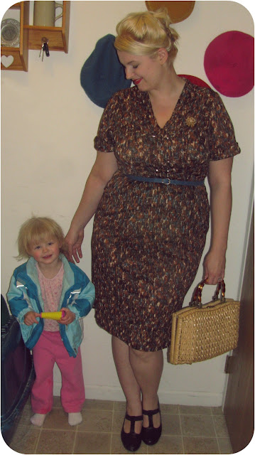 plus size vintage 1960s beehive hair and wiggle dress