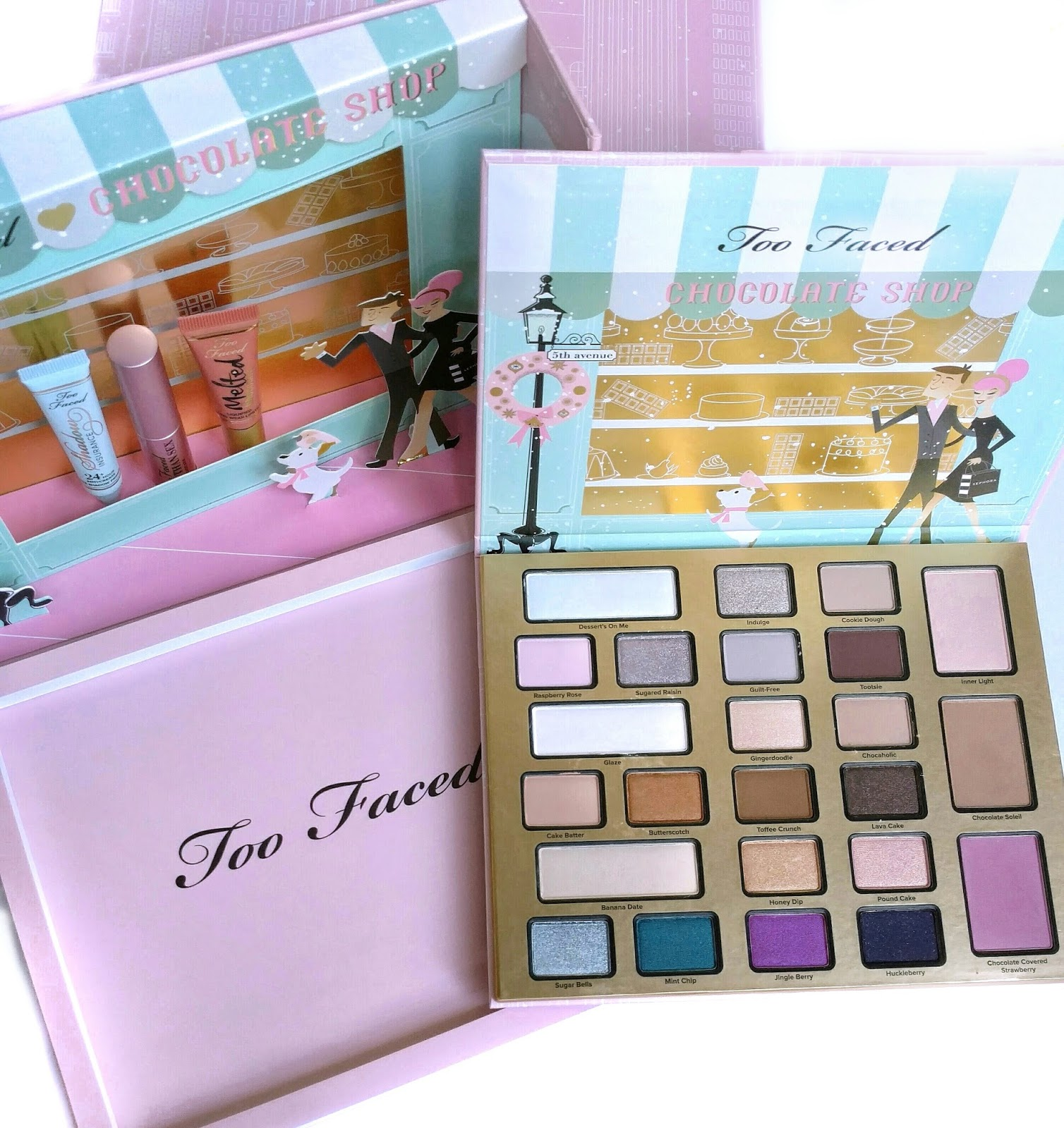 Too Faced The Chocolate Shop Holiday Set Review | The Budget ...