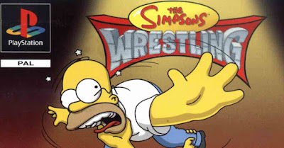 The Simpsons Wrestling (memorie a 32 bit)