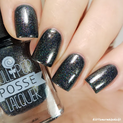 Lollipop Posse Lacquer Better Metal Snake The Really Effing Brutal Trio Swatches and Review