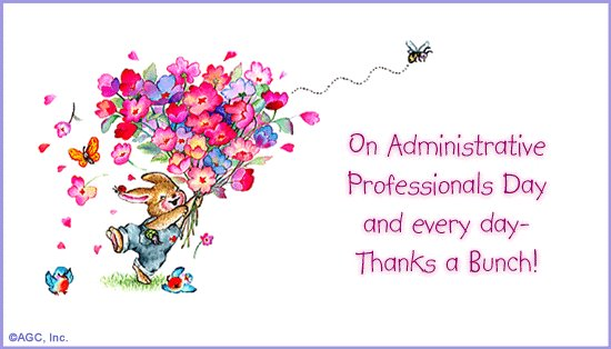 Thank You Quotes For Administrative Professionals Day: ACM Blog: Happy Administrative Professional's Day