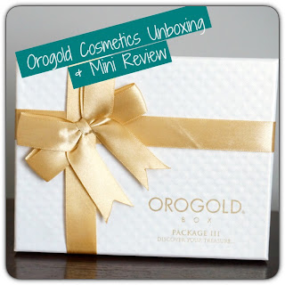 Gold skincare subscription box