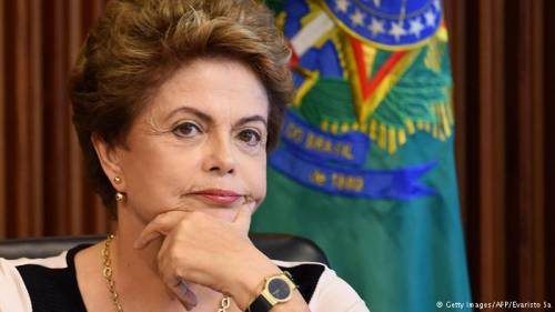 Dilma Rousseff, ousted President of Brazil