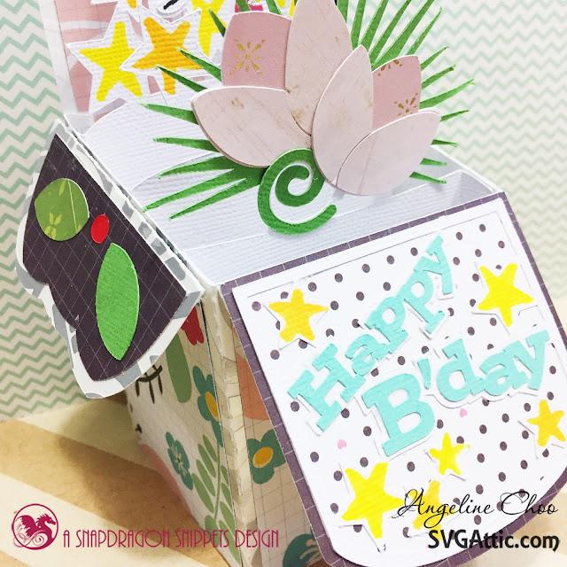 ScrappyScrappy: Happy Birthday Jodi with SVG Attic #scrappyscrappy #svgattic #birthday #svg #cutfile #papercraft #boxcard #card #cardmaking