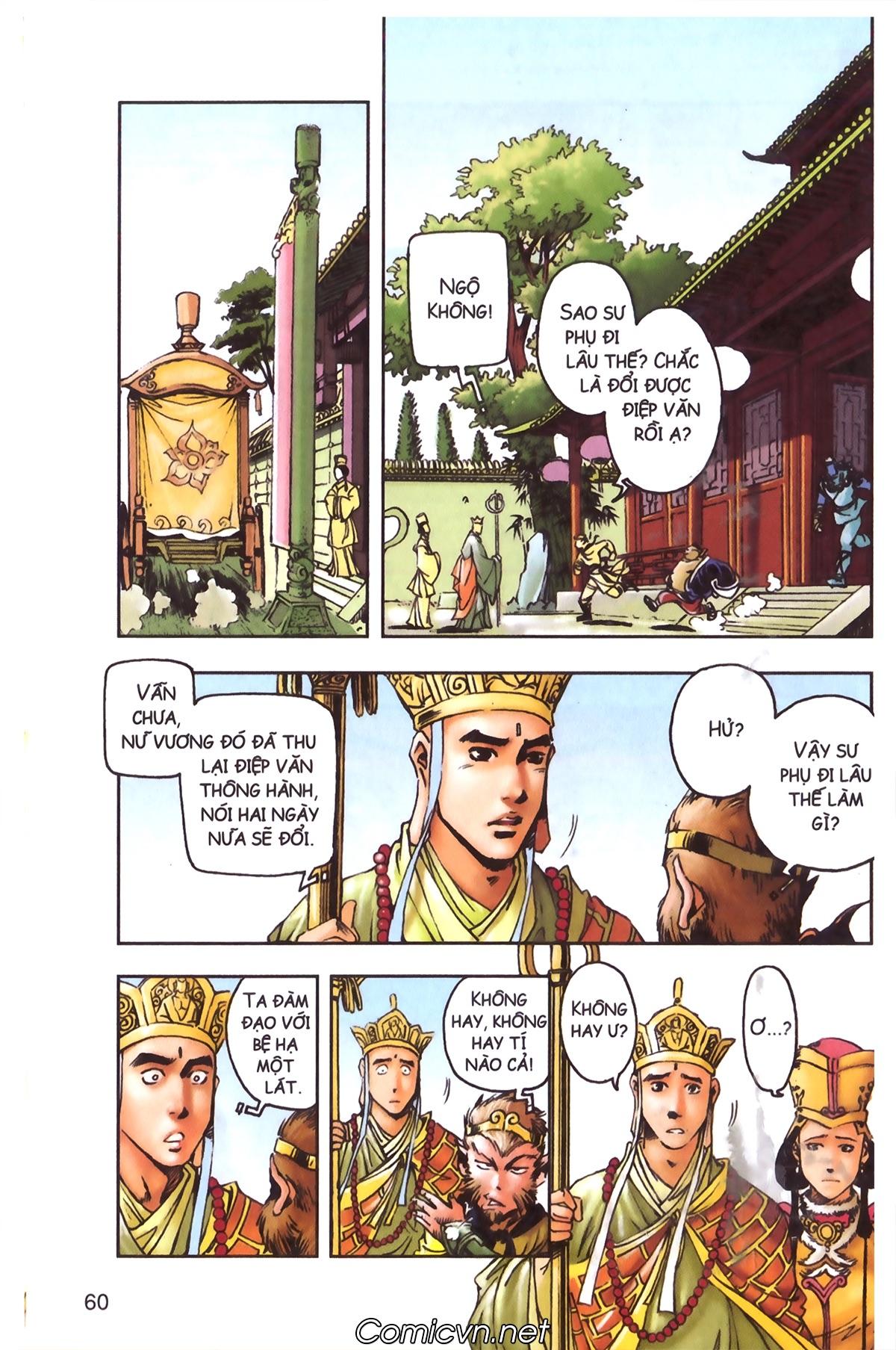 Tây Du Ký màu - Chapter 97 - Pic 30