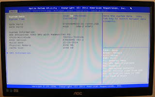 bios, setari bios, bootare, american megatrends, boot, instalare windows,