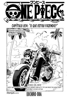 One Piece 854 Mangá – Português