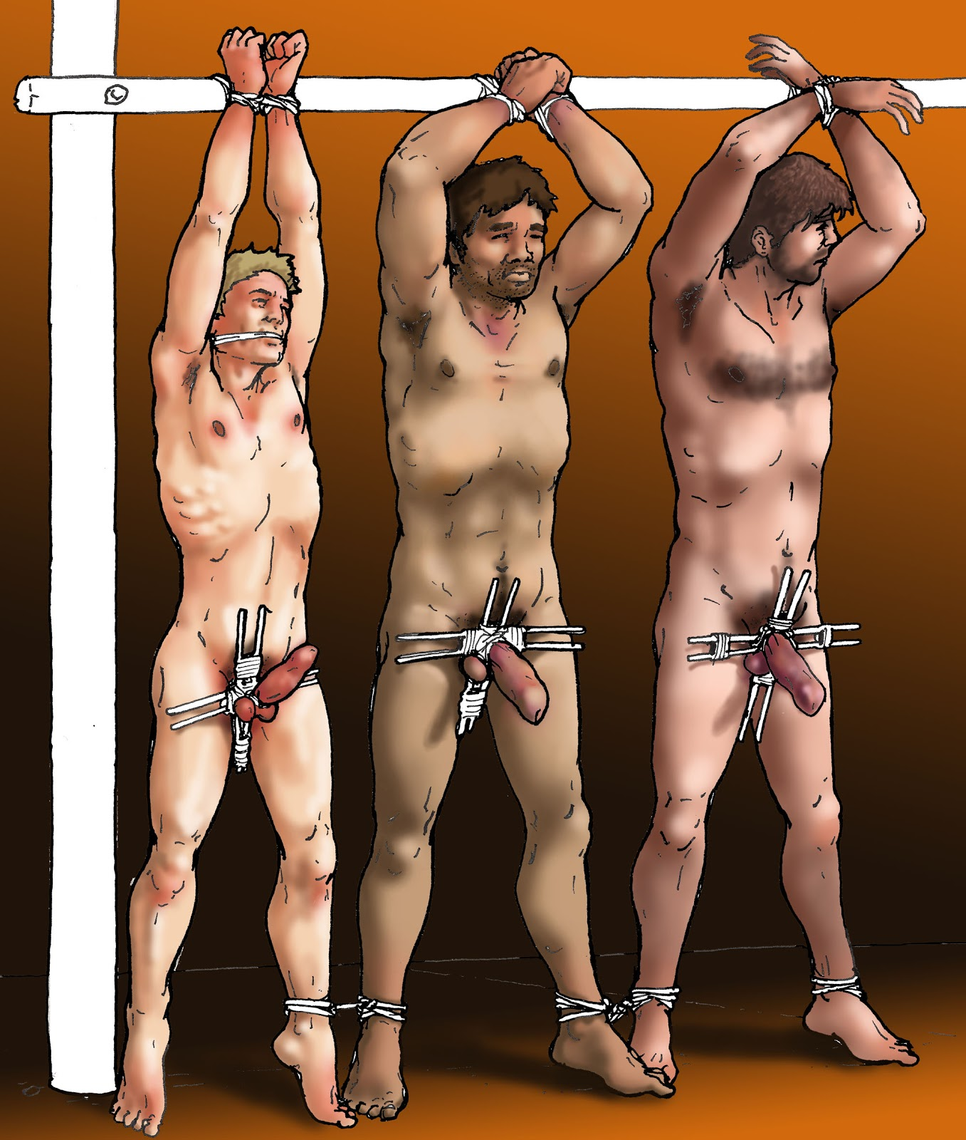 Ball torture gay male