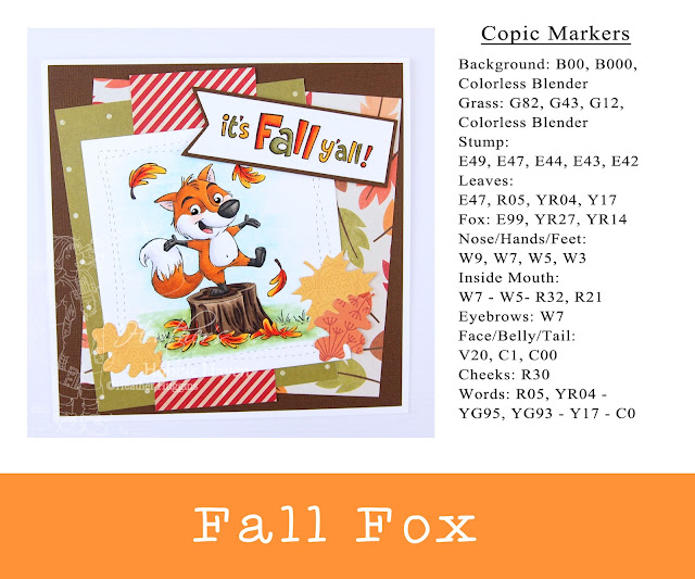Heather's Hobbie Haven - Fall Fox Card Kit