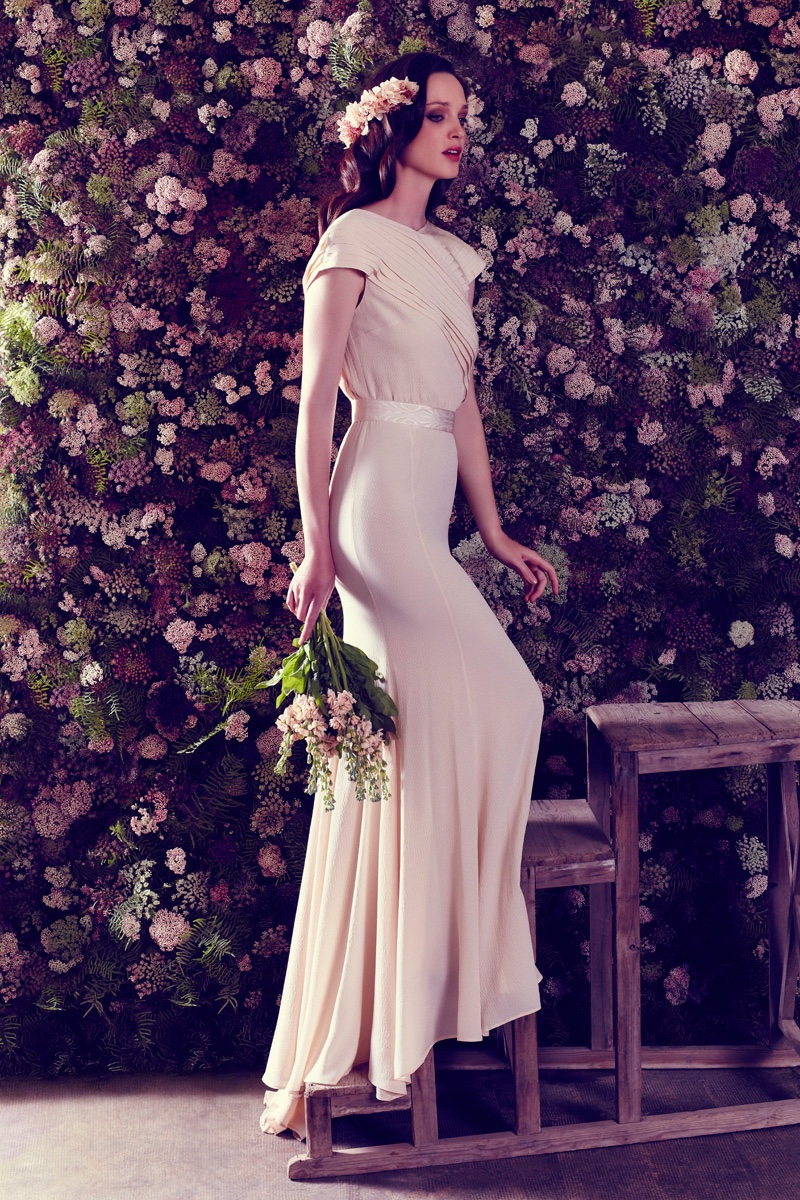 Ailanto Bridal Campaign Spring 2017 featuring Carla Crombie