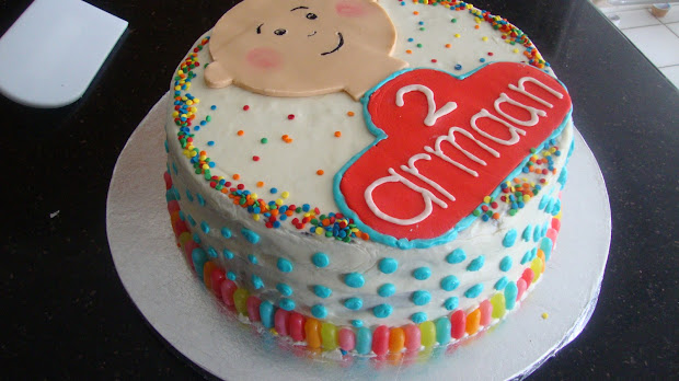 Scrumptious Sweets Caillou Cake Boys 2nd Birthday