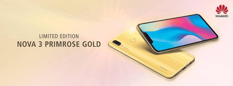 Huawei releases Nova 3 Primrose Gold in the Philippines