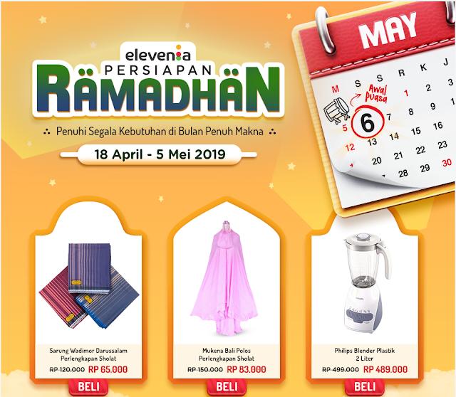 Promo Persiapan Ramadhan 2019 dari Elevenia
