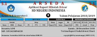 aplikasi raport arseda