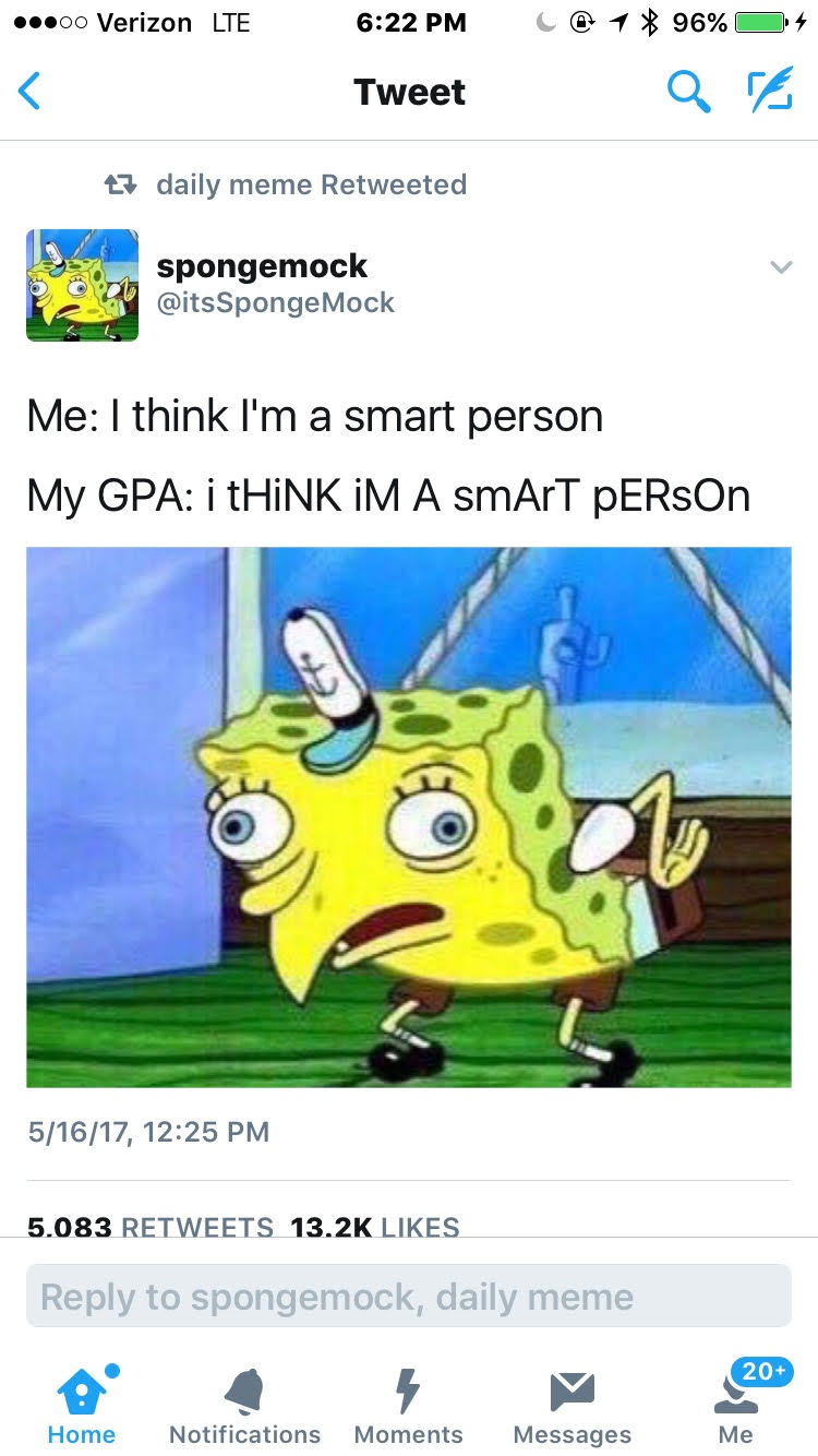 Like the name implies this meme literally features spongebob mocking something much like the other spongebob related memes this one is also destined to