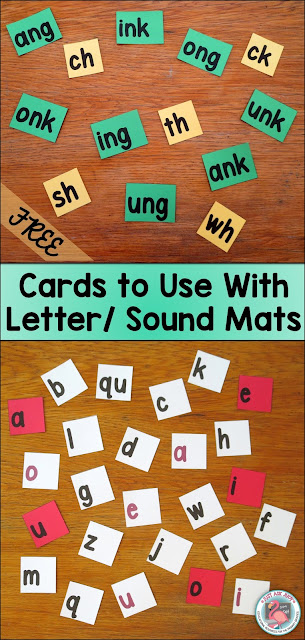 Free Printable Cards to Use With Letter Sound Mats