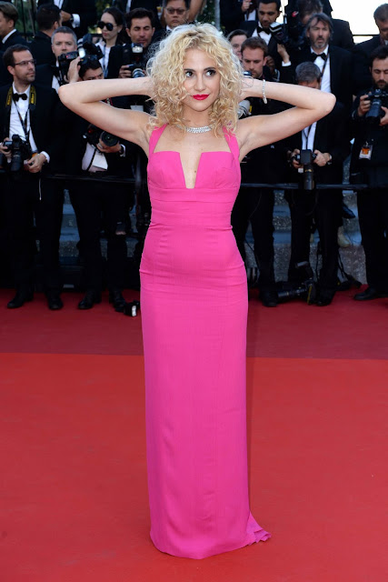 Actress, Singer, @ Pixie Lott - Land of the Moon Premiere at 2016 Cannes Film Festiva