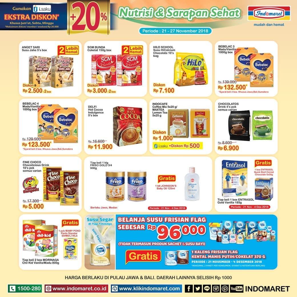 Indomaret - Promo Katalog Super Hemat Periode 21 - 27 November 2018