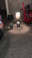 lamparas DIY con una botella de jack daniels reciclada