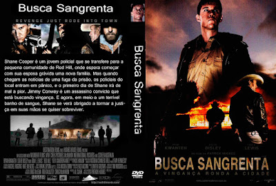 Filme Busca Sangrenta (Red Hill) DVD Capa
