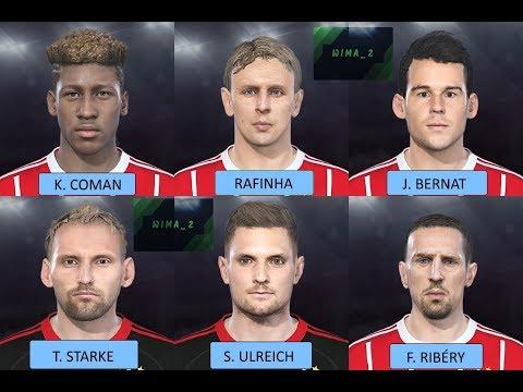 Bayern Munich Facepack PES 2018