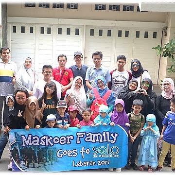 Ke Solo Bersama Keluarga Maskoer's Family