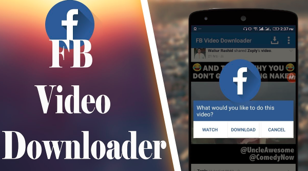 Facebook Video Downloader for android - Jason-Queally