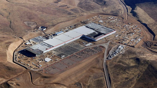 Gigafactory Battery-cell production begins