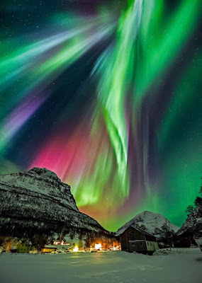 norway finland iceland Northern Lights Aurora Borealis wallpapers images