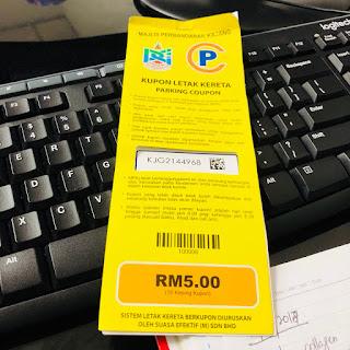 Saman Parking MPKJ