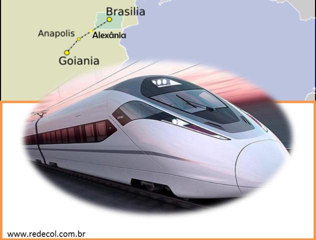 Trem-Bala entre Brasília e Goiânia